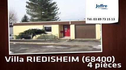 A vendre - Maison/villa - RIEDISHEIM (68400) - 4 pièces