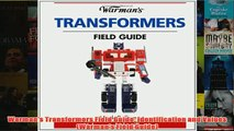 Download PDF  Warmans Transformers Field Guide Identification and Values Warmans Field Guide FULL FREE