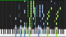 Kono Namida wo Kimi ni Sasagu - AKB0048 Next Stage (Ending) [Piano Tutorial] (Synthesia)