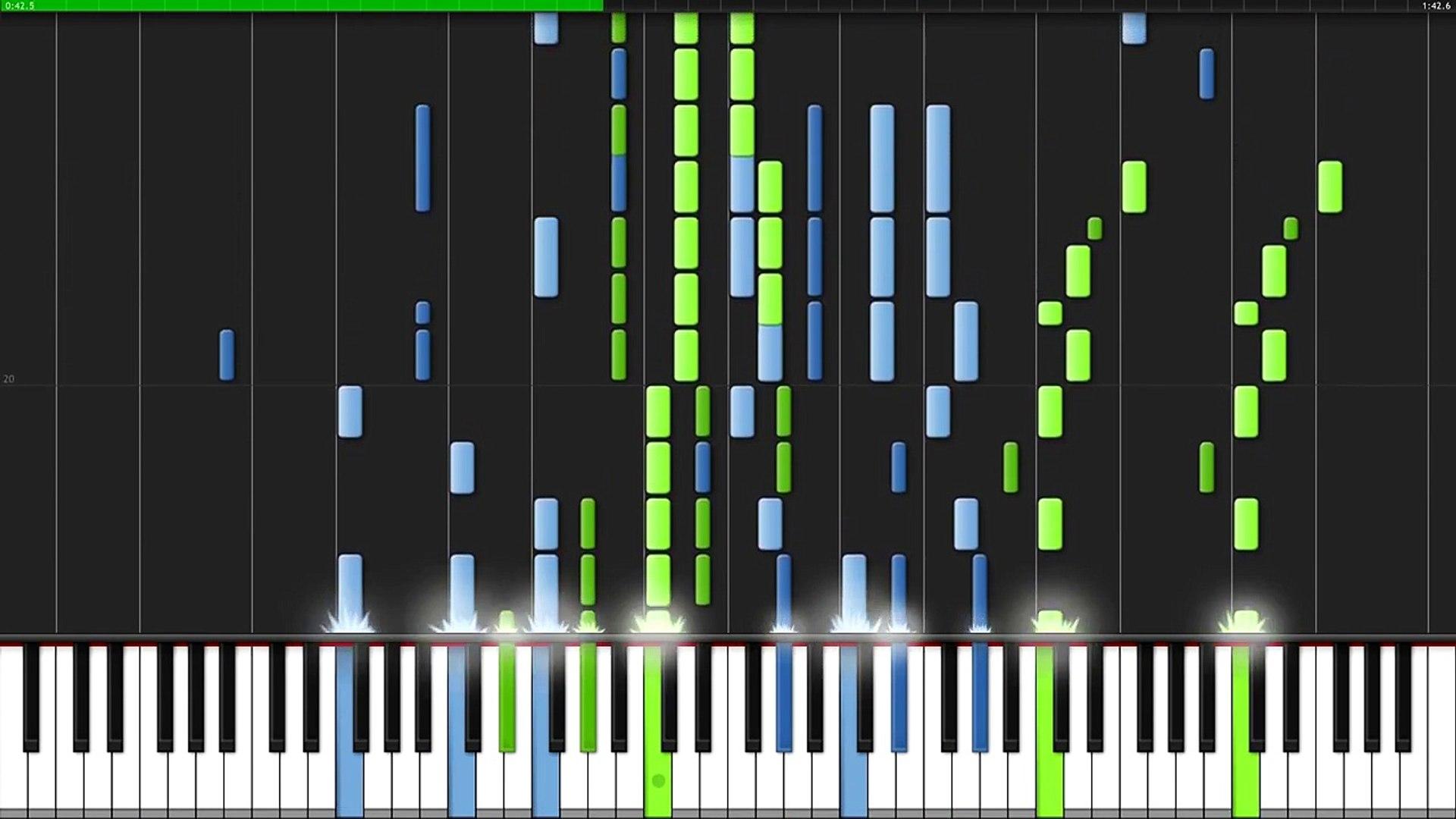 Kono Namida Wo Kimi Ni Sasagu Akb0048 Next Stage Ending Piano Tutorial Synthesia Video Dailymotion