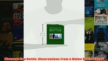 Download PDF  Message In a Bottle Observations From a Maine Bottle Hound FULL FREE