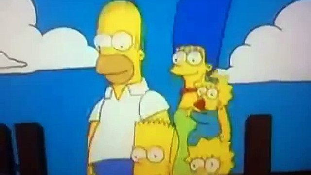 The Bart Homer Simpson The Simpsons Out of the way you