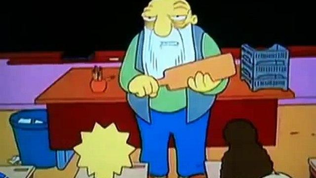 The Bart Homer Simpson The Simpsons Paddlin