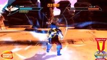 Dragon Ball Xenoverse Goku vs Vegeta & Goku vs Cell Gameplay V2 (Japan Expo 2014)