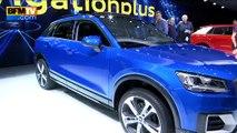 Salon de Genève: l'Audi Q2, un SUV aux finitions réussies