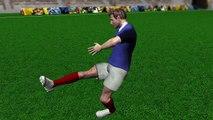 Les blessures des joueurs : l'entorse de la cheville
