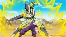 Dragon ball Z FAN ANIMATION Two blows can defeat Cell!!