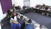 Le Conseil départemental des collégiens reçoit un candidat aux élections présidentielles