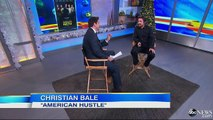 Christian Bales Wife Talked Him into American Hustle
