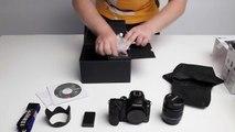 Unpacking Samsung NX30 + Lenses + Accesories