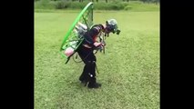 best kids fly a paramotor paragliding