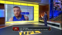 Conor McGregor discusses his intense weight cuts