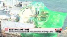 South Korea considers further sanctions on North Korea