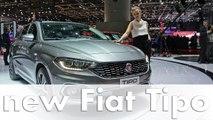 Genf 2016: Fiat Tipo, 124 Abarth und Fiat Fullback feiern Premiere