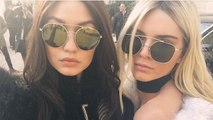 Kendall Jenner Goes Blonde While Her BFF Gigi Hadid Goes Brunette -- See The Pics!