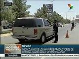 EE.UU.: México es el país que más drogas produce en el mundo