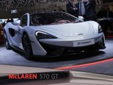 McLaren 570GT en direct du salon de Genève 2016