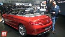 Mercedes Classe C Cabriolet [GENEVE 2016] : les infos officielles