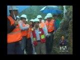 Correa visita proyectos mineros a gran escala