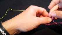 How To Tie A Fishing Knot/ How To Tie An Alberto Knot/Fluoro