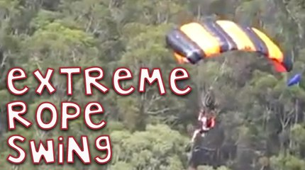 Extreme Rope Swing