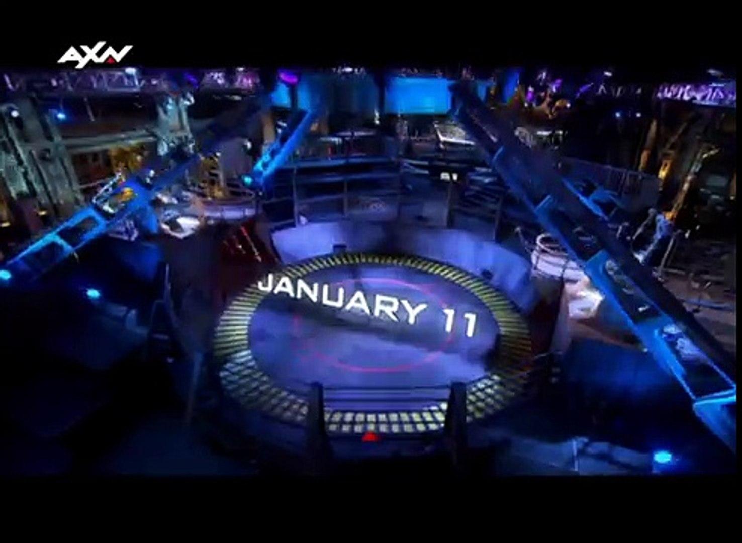 Robot Combat League on AXN HD (Ch 204)