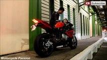 BMW s1000rr Exhaust Akrapovic bwm s1000rr test sound