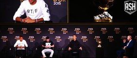 Cristiano Ronaldo - I would like to have Messi's left foot FIFA Ballon d'Or 2015