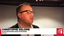 """Christophe Deloire : «""""Je suis Charlie"""", un cri général en faveur de la liberté d'expression»"""