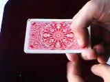 Truco de magia: Three Card Monte.