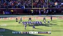 Blair Walsh perde Field Goal que daria vitória ao Minnesota Vikings