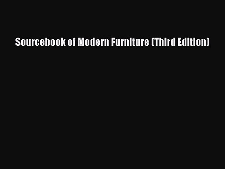 Admirable Pdf Download Sourcebook Of Modern Furniture Third Edition Read Full Ebook Interior Design Ideas Grebswwsoteloinfo