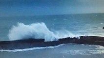 Port aux Moines sous la tempête