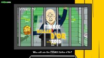 Ballon dOr RAP BATTLE 2015 (feat. Messi, Ronaldo and Neymar - Bellen dOr Parody Song)