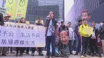 Thousands protest missing booksellers in Hong Kong