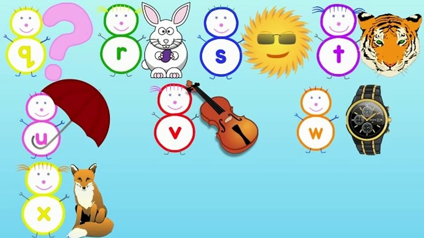 Alphabet Song With The Alphabubblies Dailymotion Video