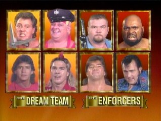 WWF Survivor Series 1989 - Team Rhodes Vs. Team Boss Man
