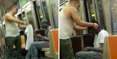 Metroda Gördüğü Evsiz Adama Üzerindeki Kıyafeti Çıkarıp Veren Koca Yürekli Adam