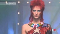 DAVID BOWIE's influence on Fashion - Jean Paul Gaultier Spring 2013 by Fashion Channel