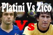 Platini  VS Zico COMPARACIONES DE FIFA DE LOS MEJORES JUGADORES DE LAS COPAS MUNDIALES - fifa players comparations
