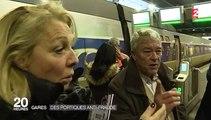 Avec ses portiques, la SNCF espère endiguer le fléau de la fraude