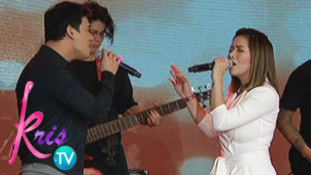 Kris TV: Erik, Angeline sings 'This I Promise You'