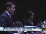 Arizona Gov. Ducey delivers State of the State