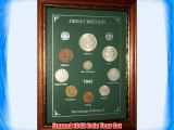 Framed 1942 GB Great Britain British Coin Birth Year Vintage Retro Gift Set (74th Birthday