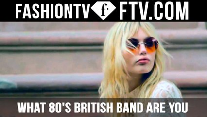 What 80's British Band Are You?  | FTV.com