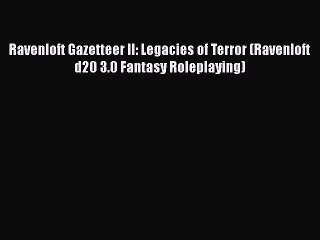 ravenloft gazetteer vol 3 pdf