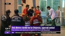 Explozia de la Chişinău. Mărturiile victimelor - imagini cu puternic impact emoţional. Sunt tratate la Bucureşti pentru că spitalele au dotări mult mai bune decât cele din Republica Moldova.