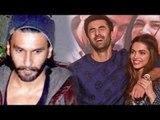 Ranveer Singh Jalouse For Deepika & Ranbir Kapoor's Chemistry