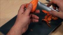 030. Free fruit carving course carrot tulip / Darmowy kurs carvingu tulipan z marchwi