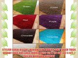 STYLISH SUEDE BISCUIT MEDIUM NEW MODERN SOFT TOUCH THICK SHAGGY RUGS NON SHED RUNNER MATS 120